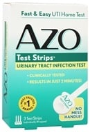 Azo - Test Strips Urinary Tract Infection Home Test - 3 Strip(s), from category: Health Aids