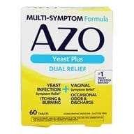 Azo - Yeast Homeopathic Medicine - 60 Tablets - $7.30