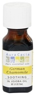 Aura Cacia - Precious Essentials Soothing in Jojoba Oil German Chamomile - 0.5 oz.