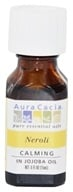 Image of Aura Cacia - Essential Oil Calming Neroli in Jojoba - 0.5 oz.