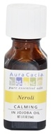 Aura Cacia - Essential Oil Calming Neroli in Jojoba - 0.5 oz.