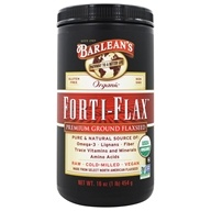 Barlean's - Natural Nutrition Forti-Flax 100% Organic - 16 oz., from category: Nutritional Supplements