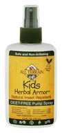 All Terrain - Herbal Armor Kids Insect Repellent Deet-Free Pump Spray - 4 oz. OVERSTOCKED