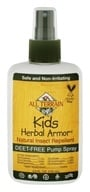 All Terrain - Herbal Armor Kids Insect Repellent Deet-Free Pump Spray - 4 fl. oz.