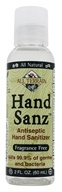 All Terrain - Hand Sanz Hand Sanitizer with Aloe & Vitamin E Fragrance Free - 2 oz.