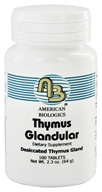 American Biologics - Thymus Glandular Raw Gland Concentrate 150 mg. - 100 Tablets