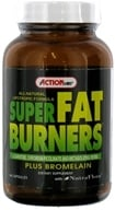 Action Labs - All Natural Lipotropic Formula Super Fat Burners Plus Bromelain & NutraFlora - 60 Capsules (724675227615)