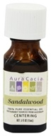 Aura Cacia - Essential Oil Focusing Sandalwood - 0.5 oz.
