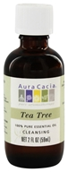 Aura Cacia - Essential Oil Cleansing Tea Tree - 2 oz. (051381911928)