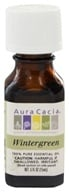 Aura Cacia - Essential Oil Reviving Wintergreen - 0.5 oz. (051381911423)