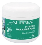 Aubrey Organics - Blue Green Algae Hair Rescue Conditioning Mask - 4 oz. (749985048019)