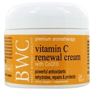 Beauty Without Cruelty - Vitamin C CoQ10 Renewal Cream - 2 oz. by Beauty Without Cruelty