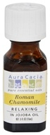Aura Cacia - Precious Essentials Relaxing Roman Chamomile in Jojoba Oil - 0.5 oz. (051381912321)