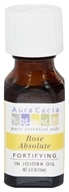 Aura Cacia - Precious Essentials Fortifying Rose Absolute in Jojoba Oil - 0.5 oz.