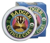 Badger - Cuticle Care Soothing Shea Butter - 0.75 oz. by Badger