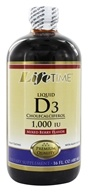 LifeTime Vitamins - Liquid D3 Mixed Berry 1000 IU - 16 oz.