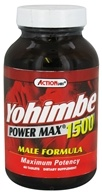 Image of Action Labs - Yohimbe Power Max 1500 - 60 Capsules