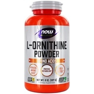 NOW Foods - L-Ornithine HCl Vegetarian - 8 oz. (733739002501)
