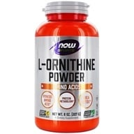 NOW Foods - L-Ornithine HCl Vegetarian - 8 oz.