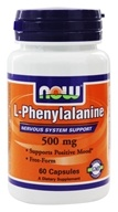 NOW Foods - L-Phenylalanine 500 mg. - 60 Capsules (733739001306)