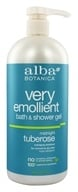 Alba Botanica - Very Emollient Bath & Shower Gel Midnight Tuberose - 32 oz. (724742005573)
