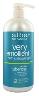 Image of Alba Botanica - Very Emollient Bath & Shower Gel Midnight Tuberose - 32 oz.