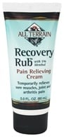 All Terrain - Recovery Rub with 5% Menthol - 3 oz., from category: Homeopathy