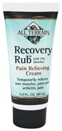 All Terrain - Recovery Rub with 5% Menthol - 3 oz. by All Terrain