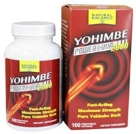 Action Labs - Yohimbe Power Max 2000 - 100 Capsules