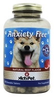 ActiPet - Anxiety Free For Dogs - 90 Chewable Tablets by ActiPet