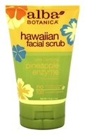 Alba Botanica - Alba Hawaiian Facial Scrub Pineapple Enzyme - 4 oz. - $8.95