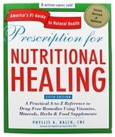 Avery Publishing - Prescription for Nutritional Healing Fifth (5th) Edition - 1 Book, from category: Health Aids