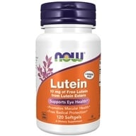NOW Foods - Lutein 10 mg. - 120 Softgels