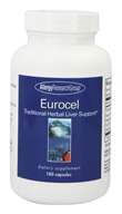 Image of Allergy Research Group - Eurocel Traditional Herbal Liver Support - 180 Capsules