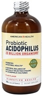 American Health - Probiotic Acidophilus Culture Plain Flavor - 16 oz. (076630008709)