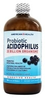 Image of American Health - Probiotic Acidophilus Culture Natural Blueberry Flavor - 16 oz.