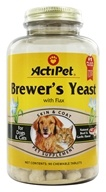 Image of ActiPet - Brewer's Yeast For Dogs and Cats - 90 Chewable Tablets