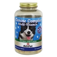 Image of ActiPet - Canine Complex For Dogs - 90 Chewable Tablets