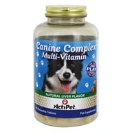 ActiPet - Canine Complex For Dogs - 90 Chewable Tablets - $7.60