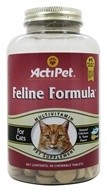 ActiPet - Feline Formula Daily Multi Vitamin & Mineral For Cats - 90 Chewable Tablets - $6.99