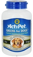 Image of ActiPet - Greens For Dogs - 90 Chewable Tablets