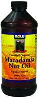 NOW Foods - Macadamia Nut Oil - 16 oz.