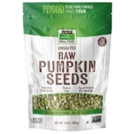 NOW Foods - Raw Pumpkin Seeds - 1 lb. (733739070258)