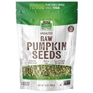Image of NOW Foods - Raw Pumpkin Seeds - 1 lb.
