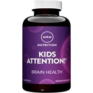 MRM - Modifiers Attention Gels Advanced Brain Formula For Children - 90 Softgels by MRM