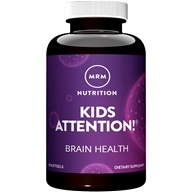 MRM - Modifiers Attention Gels Advanced Brain Formula For Children - 90 Softgels (609492630032)