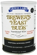 Image of Lewis Labs - Brewer's Yeast Buds Nutritional Yeast - 14 oz.