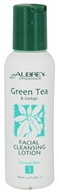 Aubrey Organics - Green Tea & Ginkgo Facial Cleansing Lotion - 4 oz.