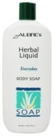 Image of Aubrey Organics - Herbal Liquid Everyday Body Soap - 16 oz.