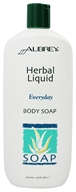 Aubrey Organics - Herbal Liquid Everyday Body Soap - 16 oz.